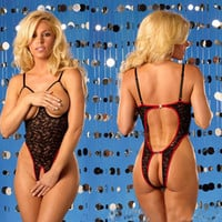 Cute On Sale Sexy Hot Deal One-piece Lace Exotic Lingerie [6595646659]
