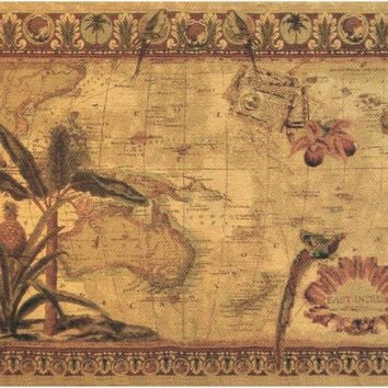 East Indies Tapestry Wall Art Hanging