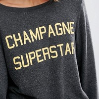 Wildfox Champagne Superstar Baggy Beach at asos.com