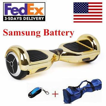 QIYIF 2017 new chrome hoverboard electric scooter samsung battery wheel self balancing scooter hover board electric skateboard