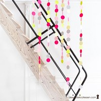 designdelicatessen - Lisa Grue - Garlands Neon - Lisa Grue