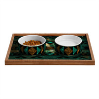 Caleb Troy Gatsby Dust Tribal Pet Bowl and Tray
