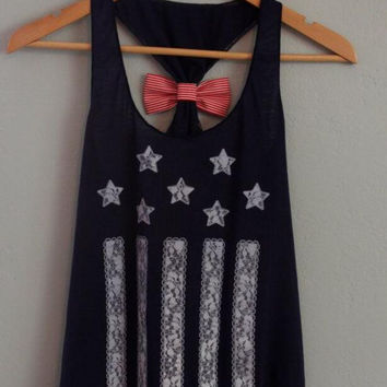New Summer fashion Sexy Women vest Star Pattern sleeveless T-shirt -0706