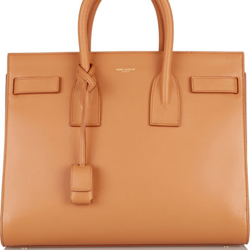 Saint Laurent - Sac De Jour small leather tote