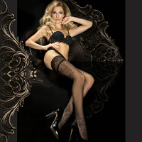 287 Hold Up in Black by Ballerina Hosiery