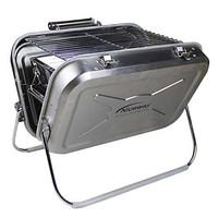 BBQ Charcoal Grill Stainless Steel Portable