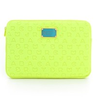 "Marc by Marc Jacobs Dreamy Logo Neoprene 11"" Computer Case 