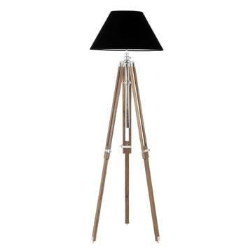 Tripod Wood Floor Lamp | Eichholtz Telescope