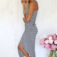 Chelsea Dress - Stripe | SABO SKIRT