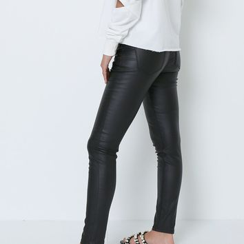 Get The Chance Black Skinny Jeans