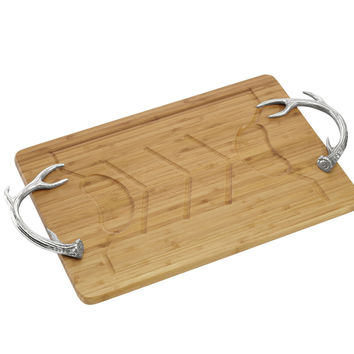Antler Carving Board