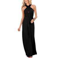 Women Dress Boho Maxi Long Evening Party Beach Dresses Sundress