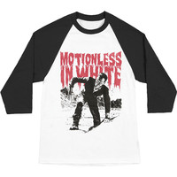 Motionless In White Men's  Frank Baseball Jersey White Rockabilia