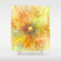 Hello Sunshine! Shower Curtain by Klara Acel | Society6