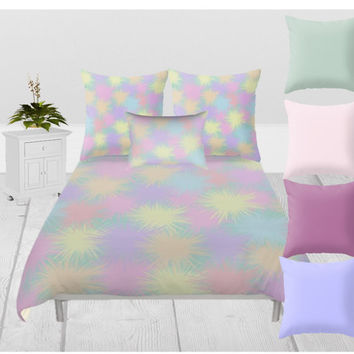 Duvet Cover - 3 different sizes, Without Insert, Bedroom, Home decor, Abstract, Pattern, Classic, With, Without, Shams, Pastels, Colorful