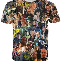 Breaking Bad Collage T-Shirt