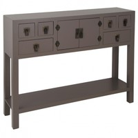 Rama & Sita Slate Grey Console Table