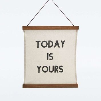 Today is Yours Wall Art - Urban Outfitters