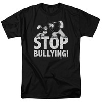 POPEYE/STOP BULLYING - S/S ADULT 18/1 - BLACK - XL