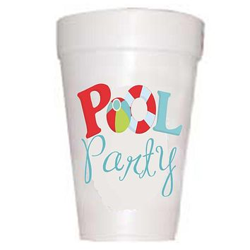 Pool Party Cups