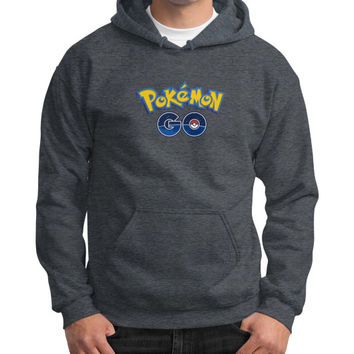 Pokemon GO Gildan Hoodie (on man) Shirt