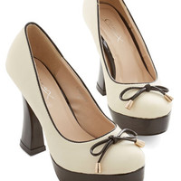 ModCloth Luxe Suave Saunter Heel