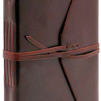 Bombay Brown Leather Journal with Tie 6