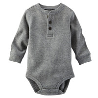Thermal Henley Bodysuit