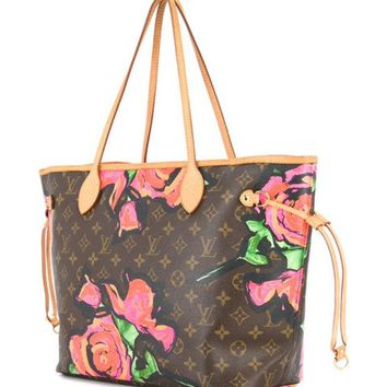 DCCKIN3 Louis Vuitton Vintage Neverfull MM Tote Bag