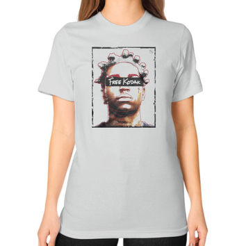 Free Kodak Unisex T-Shirt (on woman)