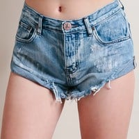 Cobaine Bandits Shorts By One Teaspoon | Threadsence