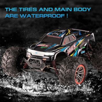 XINLEHONG TOYS RC Car 9125 1:10 RC Cars 2.4GHz 4WD 46km/h High Speed Remote Control Short-course Waterproof US Plug