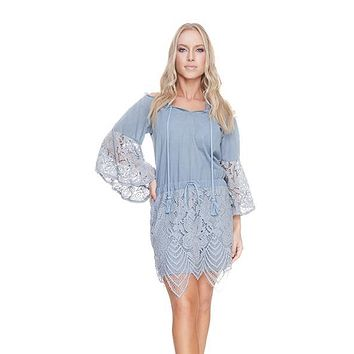 Avril Argento Tunic Cover-up Dress