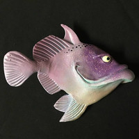 Trigger - Fish With Attitude - Artist Mike Quinn