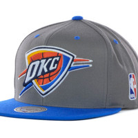 Oklahoma City Thunder NBA Under Over Snapback Cap