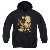 Mirrormask Trapped Black Youth Hooded Sweatshirt