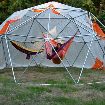 Geodesic Outdoor Hammock Dome With Cover For Festivals/Gatherings