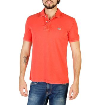 Napapijri Men Red Polo