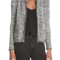 IRO Unplug Metallic Tweed Jacket | Nordstrom