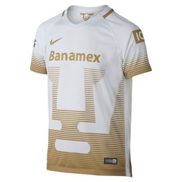 Nike 2015/16 Club Universidad Nacional A.C. Stadium Away Kids' Soccer Jersey