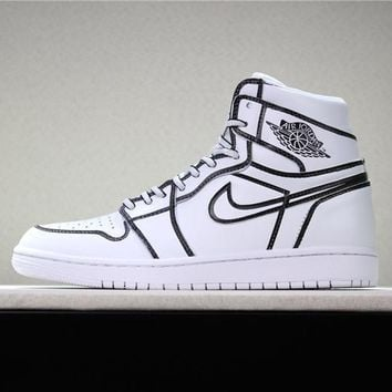 air jordan 1 retro hand painted basketball shoe 36 46 d7b204591c