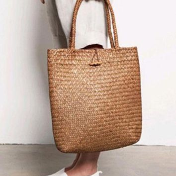 Straw Eco Tote Bag