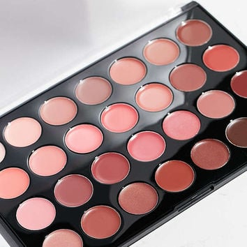 bh cosmetics Nude Lips 28 Color Lipstick Palette | Urban Outfitters