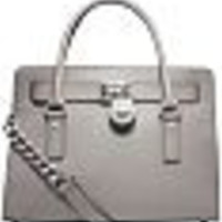 Michael Kors Medium Saffiano Leather Tote - Grey