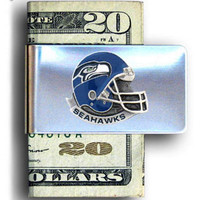 Seattle Seahawks Steel Money Clip FMC155