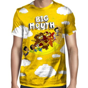 Big Mouth Flying Banana T-Shirt