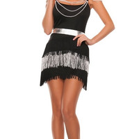 Midnight Party Flapper Costume