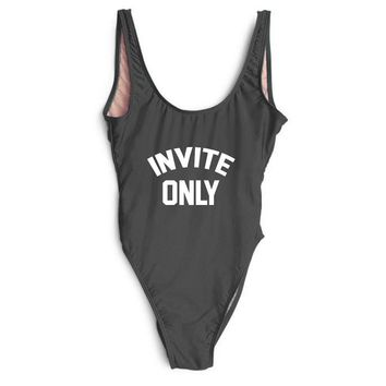 INVITE ONLY One Piece Swimsuit