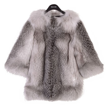 Fox Fur Winter Jacket