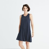 Madewell highpoint tank dress in chevron stripe